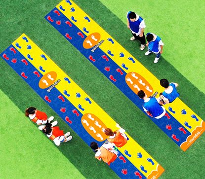 【手脚并用】手忙脚乱游戏,团建活动趣味运动会儿童游戏,户外拓展
