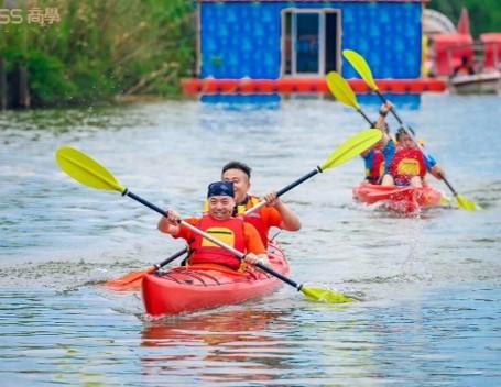 团建旅游项目:皮划艇